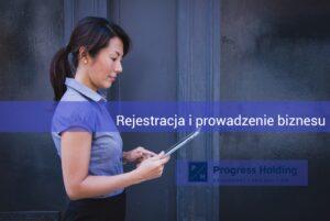 Progress Holding - rejestracja spółki