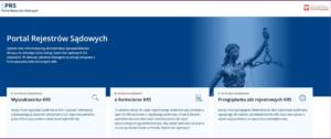 PRS - nowy system aktualizacji i archiwizacji danych w KRS
